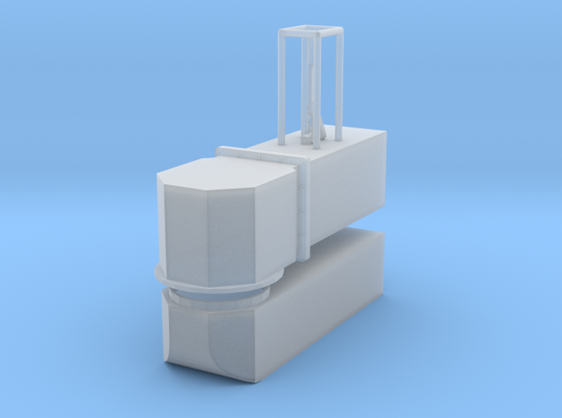 1/24 scale Newton Dump Valve W/Swivel in Smooth Fine Detail Plastic