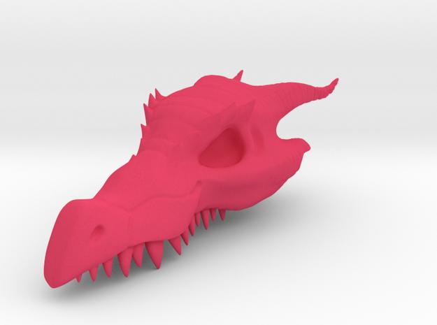 Dragon Skull Pendant - 3DKitbash.com 3d printed