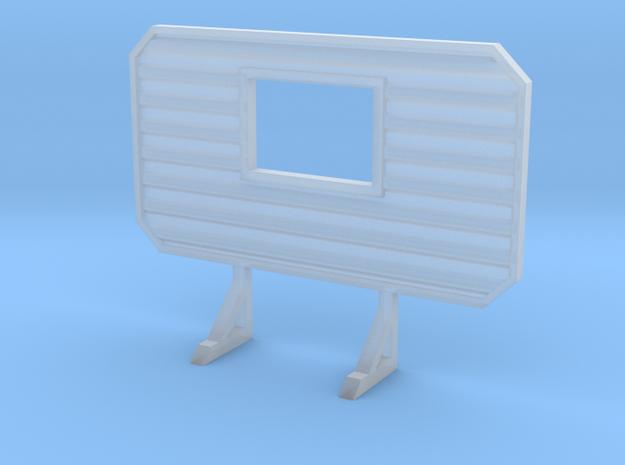 1/87 HO headache rack with window
