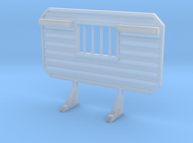 1/87 HO headache rack window chain hangers in Frosted Ultra Detail