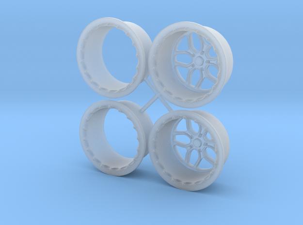 Billet Specialties Win Lite Rear Pair 1/18 in Smooth Fine Detail Plastic