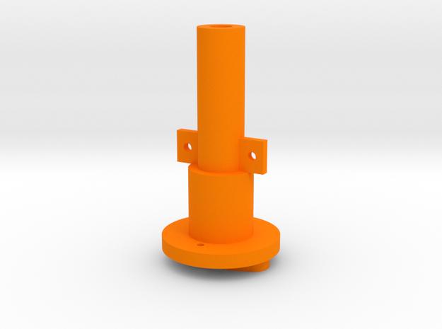 MK I to Warthog/Cougar Tailpiece in Orange Processed Versatile Plastic
