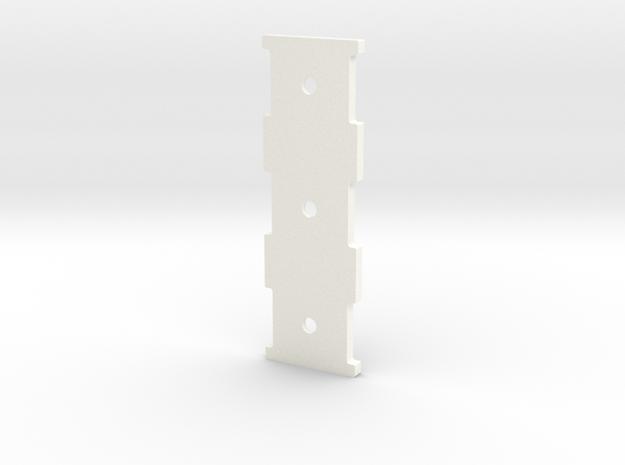 2537-5 Triple Carb Base in White Processed Versatile Plastic