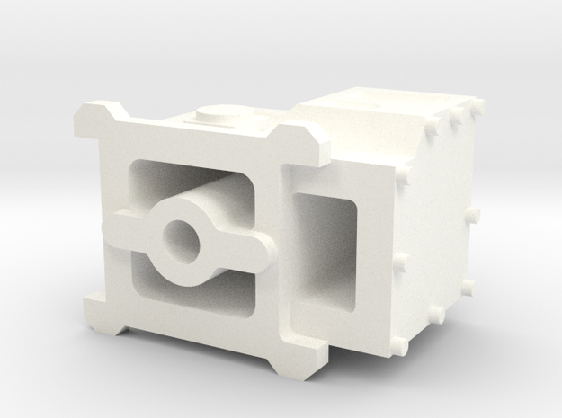 2537-4 Predator Carburetor in White Processed Versatile Plastic