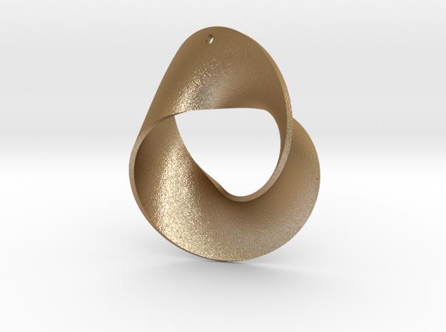 MOBY earrings in Matte Gold Steel
