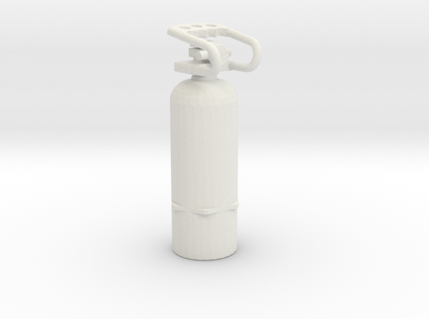 1/10 Scale Air Tank  in White Natural Versatile Plastic