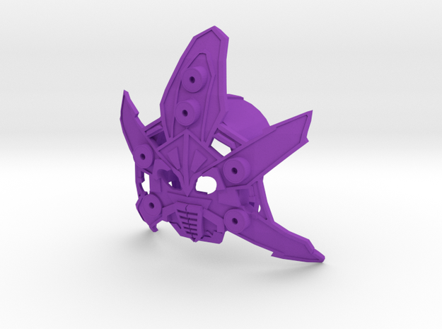 Monarch Mask Of Domination in Purple Processed Versatile Plastic