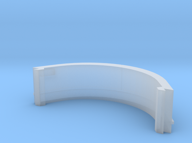 HO CLRV Front End Skirt in Smooth Fine Detail Plastic