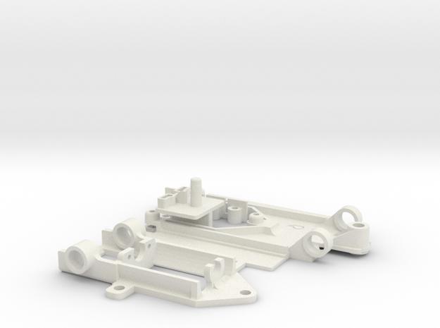 PDFFpod FordCapriGr5 in White Natural Versatile Plastic