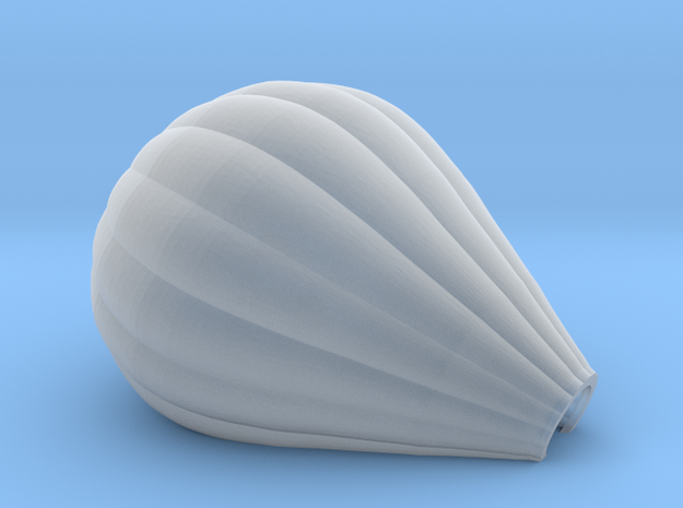 Hot Air Balloon 2 - Z Scale in Smoothest Fine Detail Plastic