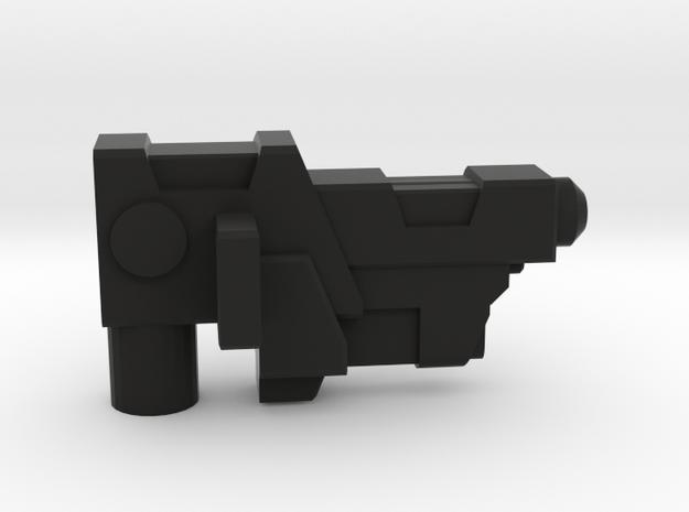Maxima Side Arm Gun Left in Black Natural Versatile Plastic