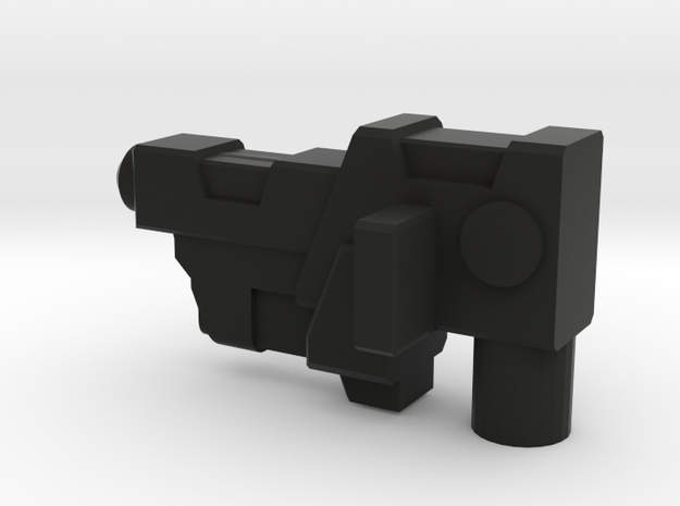 Maxima Side Arm Gun Right in Black Natural Versatile Plastic
