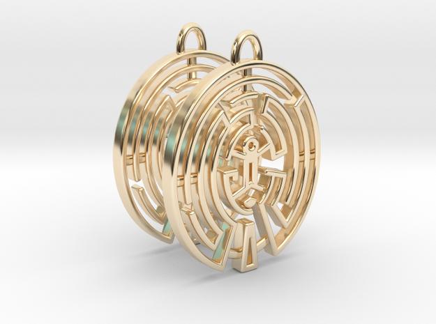 WestWorld Maze Earrings