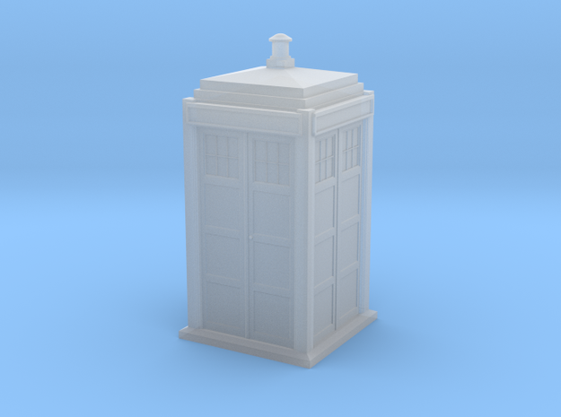 BDHO-0002 TARDIS-1/87 Scale in Frosted Ultra Detail