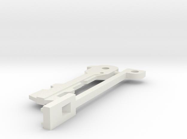 Resident Evil: emblem key - parts B in White Natural Versatile Plastic