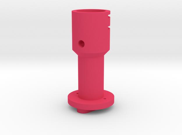 Suncom to Thrustmaster joystick tailpiece in Pink Processed Versatile Plastic
