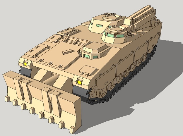 1/350 Bgbv-90 Armored Recovery Vehicles (4pcs)