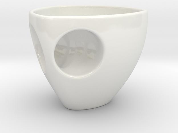 Metaxas & Sins Holyspresso Espresso Cup in Gloss White Porcelain