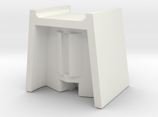 Motormaster head box in White Natural Versatile Plastic