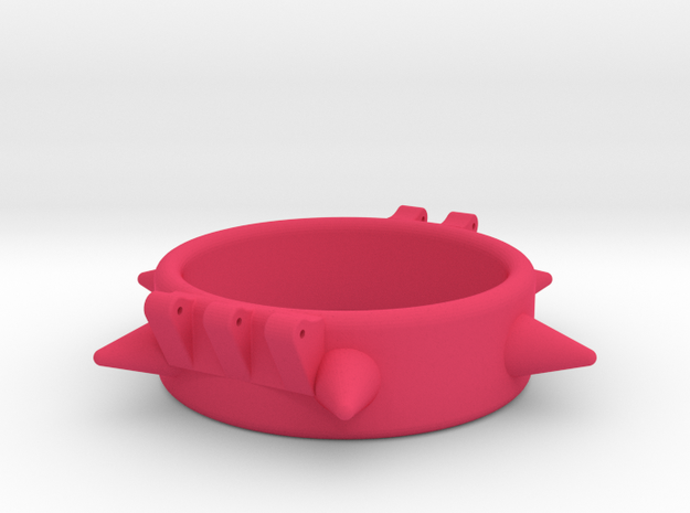 Ccage-6 Spike 41-15 in Pink Processed Versatile Plastic