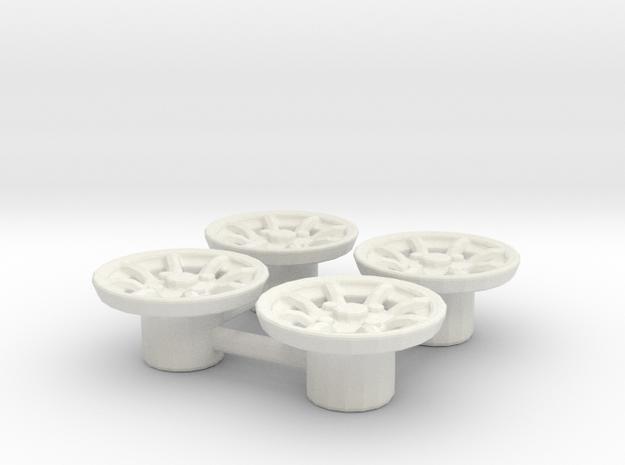 Tapacubos Minilite 14 in White Natural Versatile Plastic