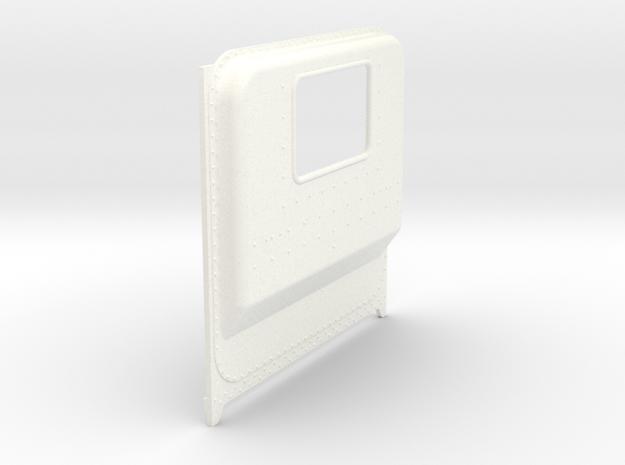 1/24 Italeri Peterbilt Unibilt Daycab B  in White Processed Versatile Plastic: 1:24