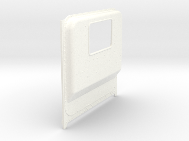 1/24 Italeri Peterbilt Unibilt Daycab B  in White Strong & Flexible Polished: 1:24
