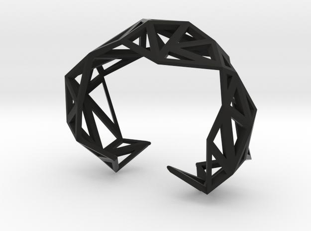 TRIANGULATED CUFF     3d printed