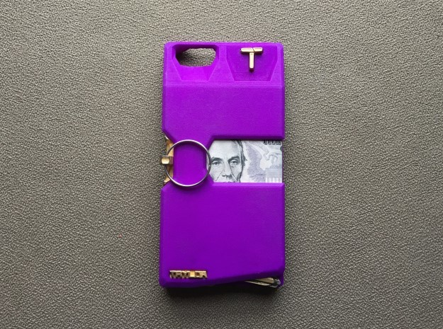 Iphone 6/7 Case in Purple Processed Versatile Plastic