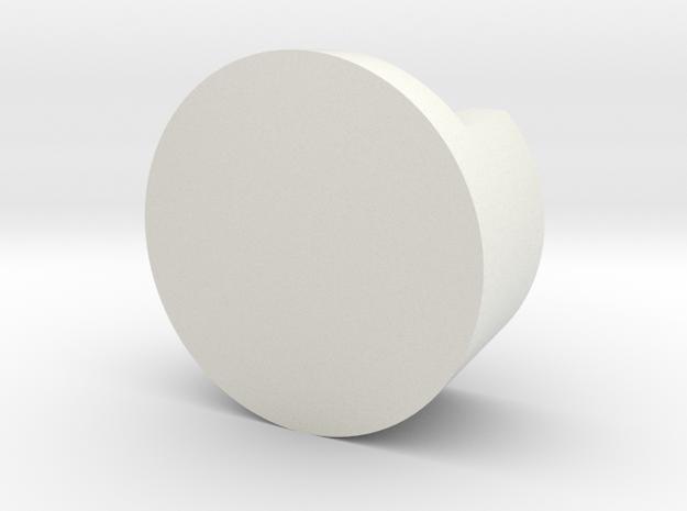 Lapicero in White Natural Versatile Plastic