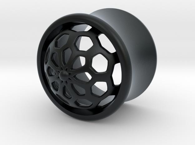 VORTEX1-13mm in Black Hi-Def Acrylate