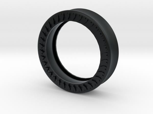 VORTEX10-39mm in Black Hi-Def Acrylate