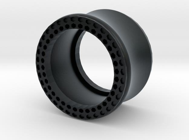 VORTEX11-16mm in Black Hi-Def Acrylate