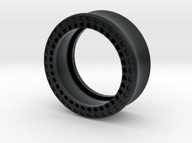 VORTEX11-28mm in Black Hi-Def Acrylate