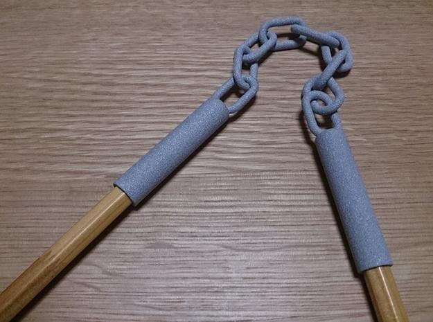 Nunchaku Pen Cap(two linked fighting sticks)