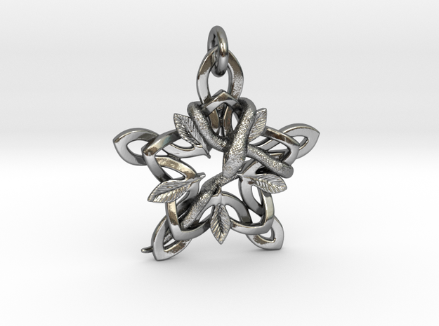Snake in Polished Silver (Interlocking Parts)