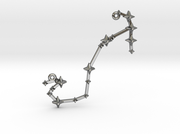 The Constellation Collection - Scorpio in Polished Silver