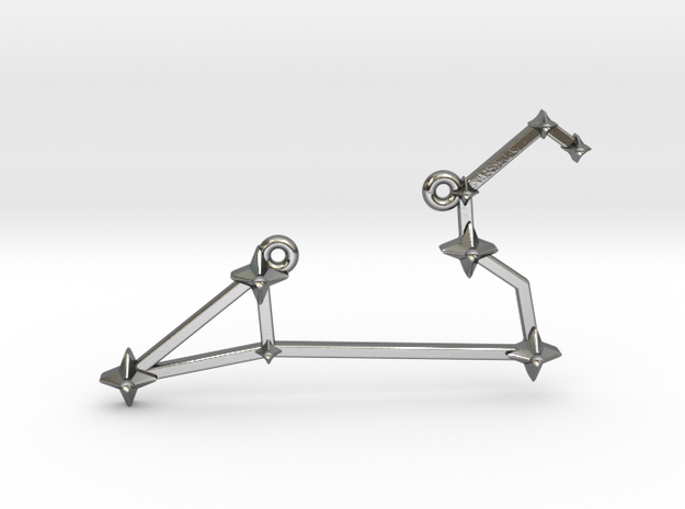 The Constellation Collection - Leo in Polished Silver