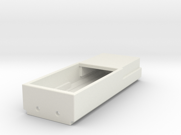 Kato ES44AC Speaker Box (1 Piece) (N-Scale) in White Strong & Flexible