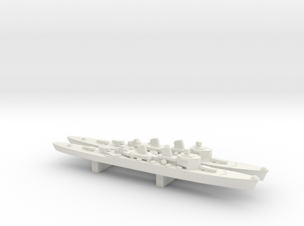 Tre Kronor-class cruiser x 2, 1/3000