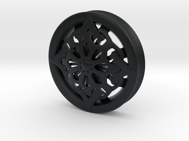 VORTEX6-51mm in Black Hi-Def Acrylate