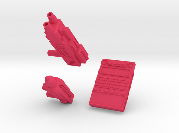 TEWOJ Technologies Set  in Pink Strong & Flexible Polished