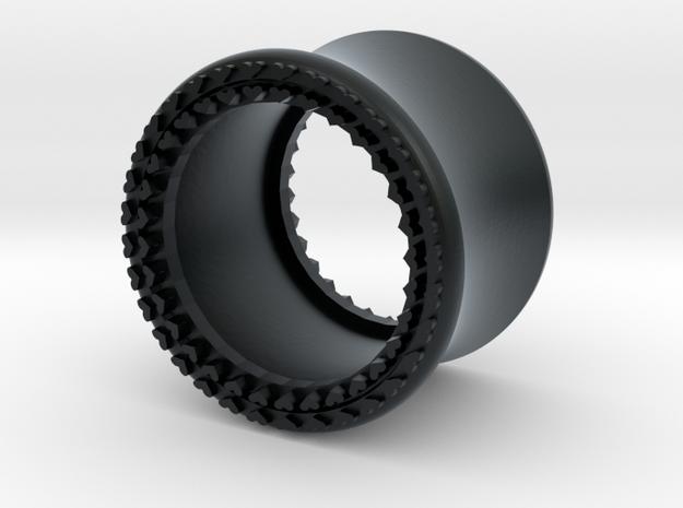 VORTEX8-13mm in Black Hi-Def Acrylate