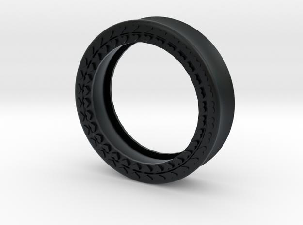 VORTEX8-41mm in Black Hi-Def Acrylate