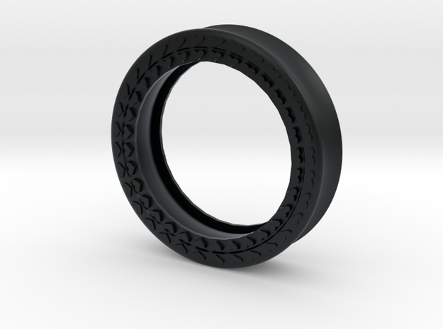 VORTEX8-45mm in Black Hi-Def Acrylate