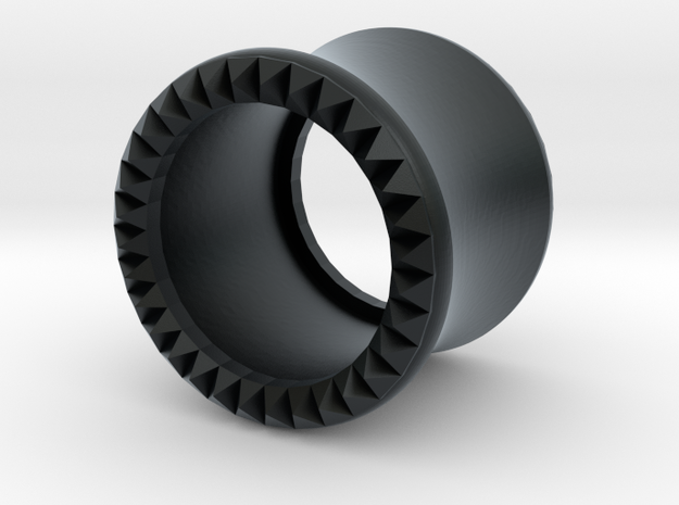 VORTEX9-11mm in Black Hi-Def Acrylate