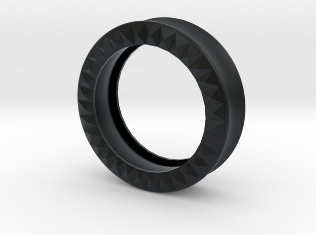 VORTEX9-38mm in Black Hi-Def Acrylate