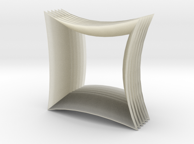 Asquare Table 3d printed Description