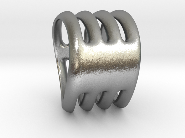 Gill of fish in Natural Silver