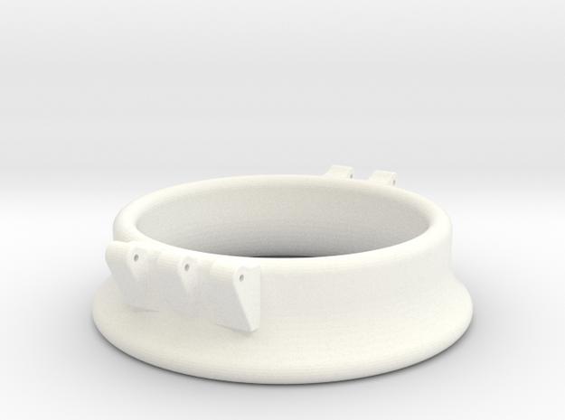 Ccage-bell 43-15 in White Processed Versatile Plastic